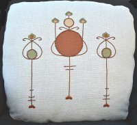 """Harvey"" Pillow Embroidery Kit"