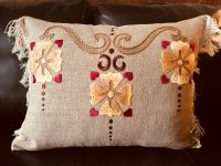 Miranda Silk Pillow Embroidery Kit