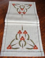 Spiderwort Table Scarf