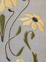 Black Eyed Susan Pillow Embroidery Kit