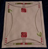 Roycroft Rose Table Scarf