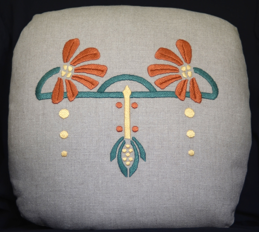 Cone Flower Pillow